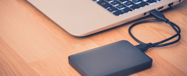 What are the benefits of external hard drives?